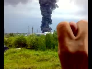 Взрыв на РВС