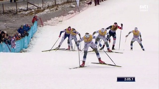 DOUBLE victory for Sweden with Nilsson and Sundling - WC Lillehammer 2018 - Women's sprint (F) final