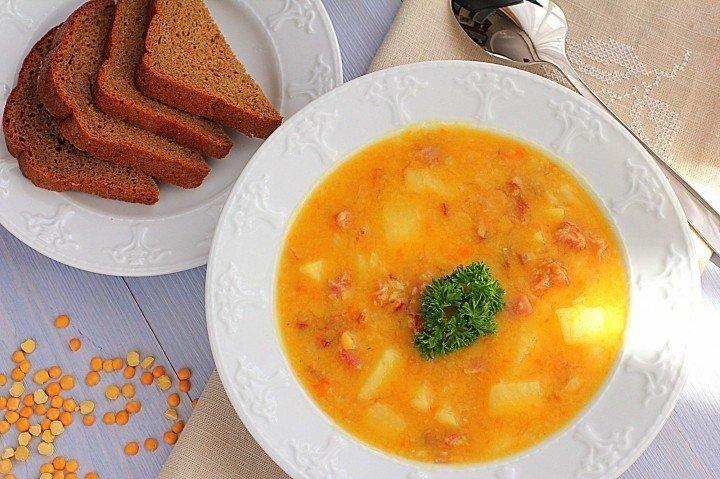 Гороховый суп с копченостями рецепт с фото в мультиварке поларис