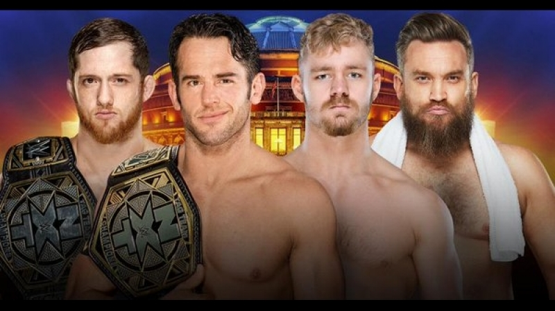 Undisputed ERA (Kyle OReilly and Roderick Strong) vs. Moustache Mountain (Trent Seven and Tyler Bate)