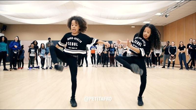 Petit Afro Presents AfroDance One Man Workshop Part 1 Eljakim Video