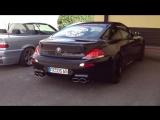 BMW M6  eisenmann race sound exhaust brutal loud amazing ac schnitzer