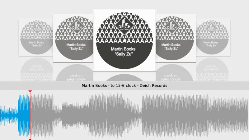 [4][122.00 C] martin books ★ to 15 6 clock ★ deich records