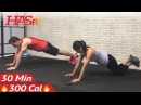 HASfit - No Equipment Upper Body Workout (Arms Chest and Back) | Силовая тренировка верхней части без инвентаря (грудь, спина, руки)