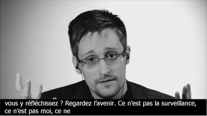Edward Snowden appelle la France à rendre le monde meilleur