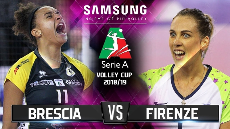 Brescia vs Firenze (DAY 2) - Highlights | Samsung Volleyball CUP
