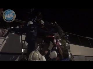 Видео с места ДТП под Воронежем