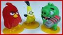 ЗЛЫЕ ПТИЧКИ против СВИНА. 2 серия. Энгри Бердс. Angry Birds. Киндер сюрприз.