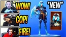 STREAMERS REACT TO *NEW* VALKYRIE* SKIN! *LEGENDARY* Fortnite FUNNY EPIC Moments