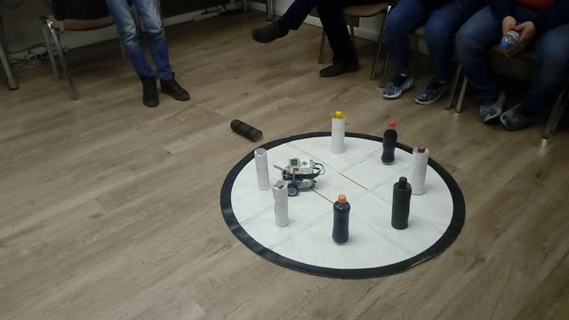 3 модуль робототехники Lego Mindstorms 2 попытка Виноградова Максима и Соловьева Романа