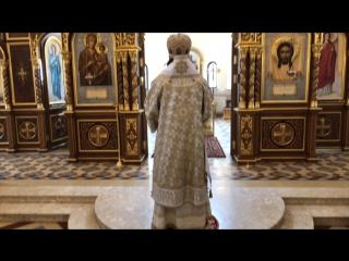 Проповедь митрополита Марка в день памяти Инокентия Московского