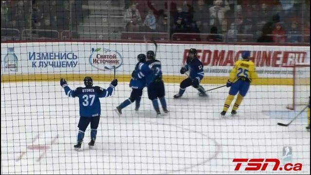 Finland vs. Sweden (SF) - 2018 IIHF Ice Hockey U18 World Championship