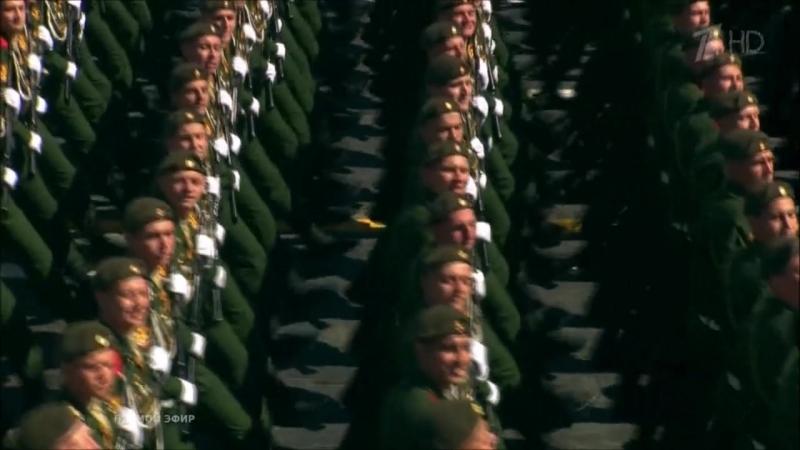 27-я Гвардейская Севастопольская ОМСБр на Параде Победы 9 мая 2018 года