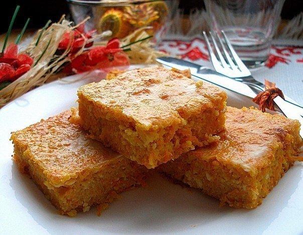 Тыквенно морковная запеканка рецепт с фото