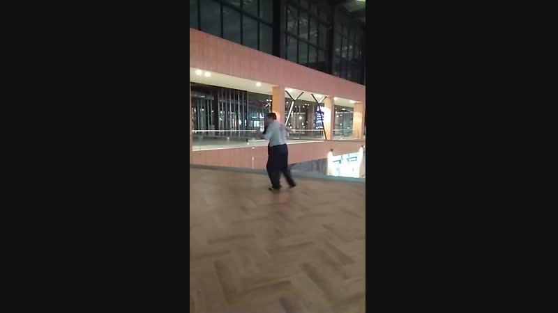 Милонга 09.12.2018 Танцуют Татьяна Никитина и Павел Целебровский