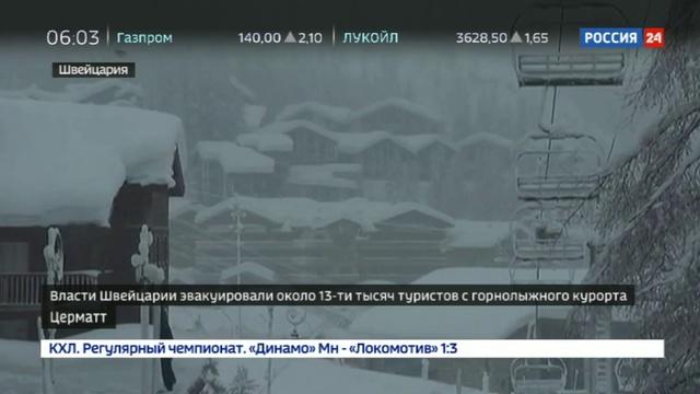 Новости на Россия 24 • Лавины в Швейцарии: Ростуризм призывает к бдительности