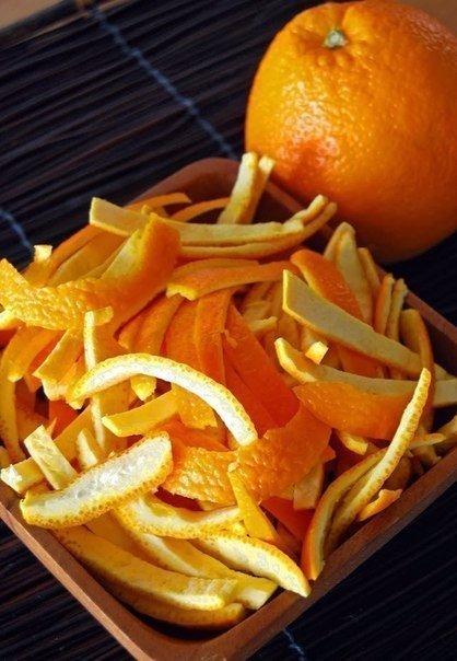Апельсиновые цукаты.