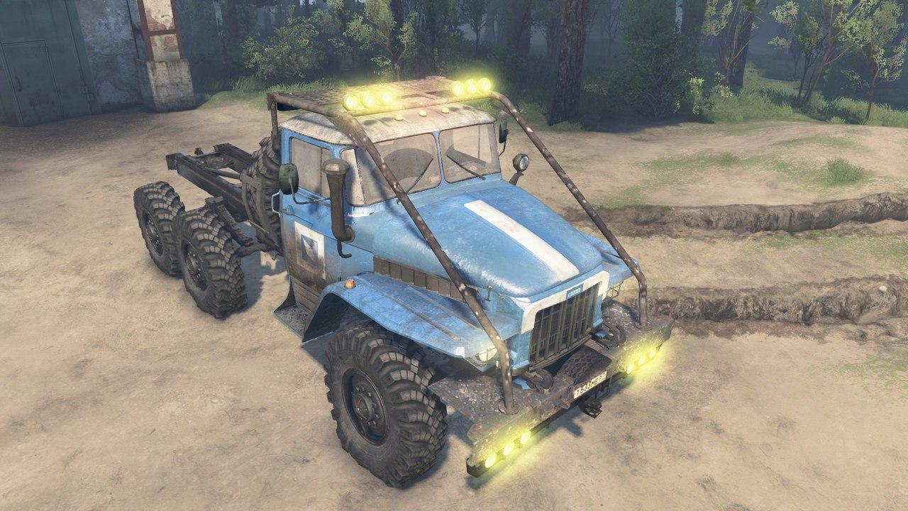 Урал 375 для 23.10.15 и 08.11.15 для Spintires - Скриншот 1