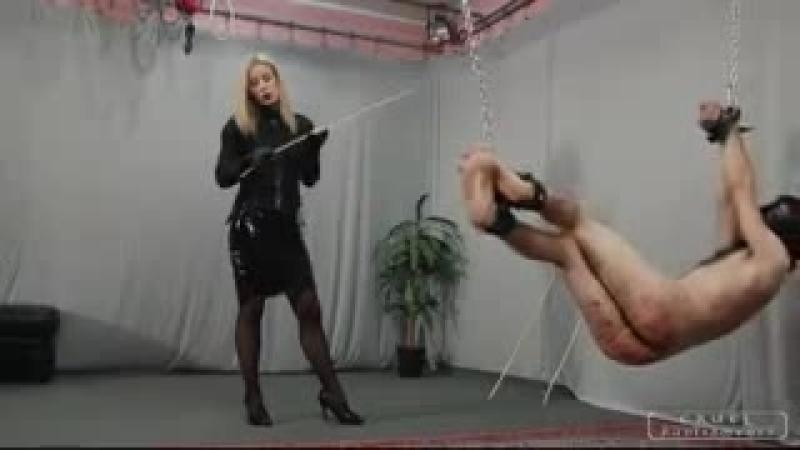 Mistress bastinado slave 3