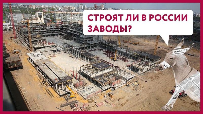 Строят ли в России заводы? | Уши Машут Ослом 24 (О. Матвейчев)