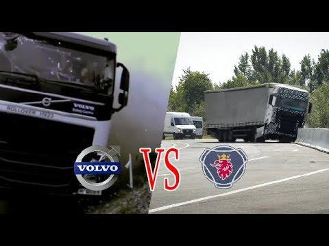 VOLVO VS SCANIA !! Sistem Keselamatan Mana yang Lebih Baik