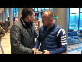 Александр шлеменко отправился в челябинск на турнир rcc6