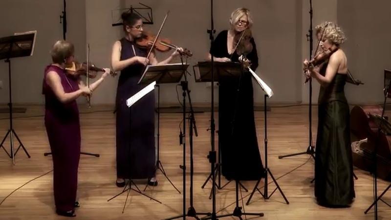 Telemann - Concerto for 4 Violins No. 2 in D major