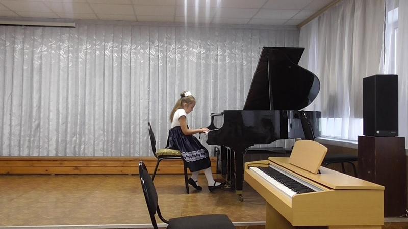 Похазникова Жанна, 3 класс, ДШИ р.п. Новые Бурасы, преп. Котова Е.В.