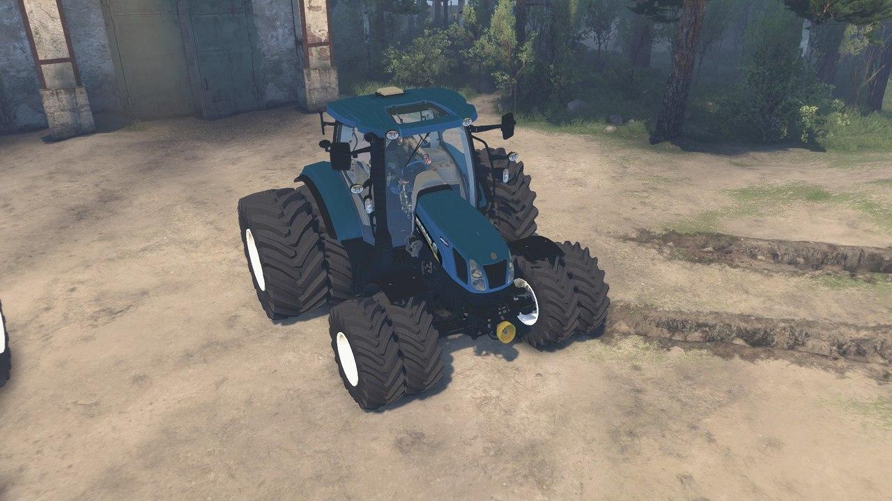 "Трактор ""Holland T6160"" для 25.12.15 для Spintires - Скриншот 2"