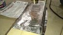 Проверяем фольгу для бани на нагрев