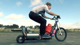 TurboJet Powered Scooter-IT'S ALIVE