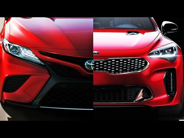 Почему все ждут новую Тойота Камри и крутая Киа Стингер Clickoncar news 11