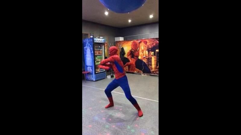 День рождения(танец человека паука) 18.05.2018