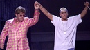 Eminem Elton John Talk about Kamikaze. He praises Em for apologising about 'fa***t' slur
