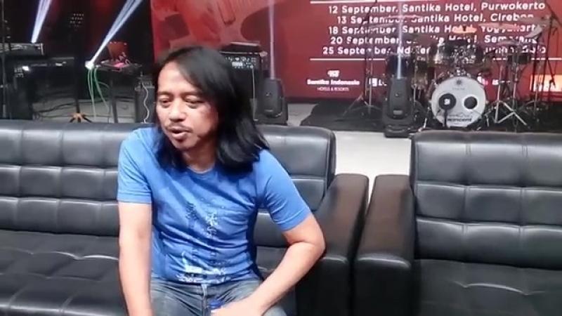 Дэва Буджана об участии в новом альбоме Джона Фрущанте (на индонезийском)