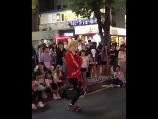 Red crew 레드크루 cover rumor guest busking instar