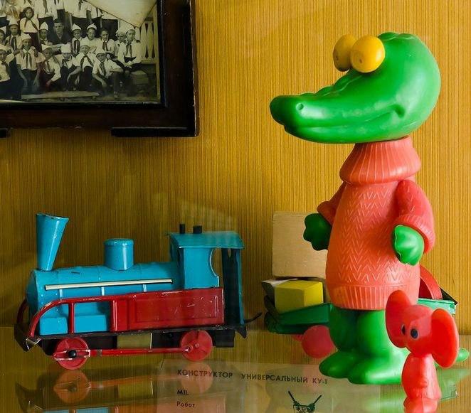 выставка игрушек советского периода в Таганроге