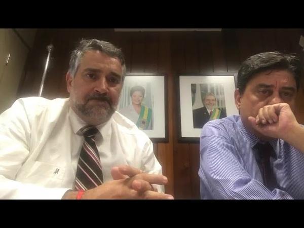Paulo Pimenta e Wadih Damous vão para cima da PGR em busca de Moro e sua turma.