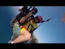 Полет на параплане-приземление