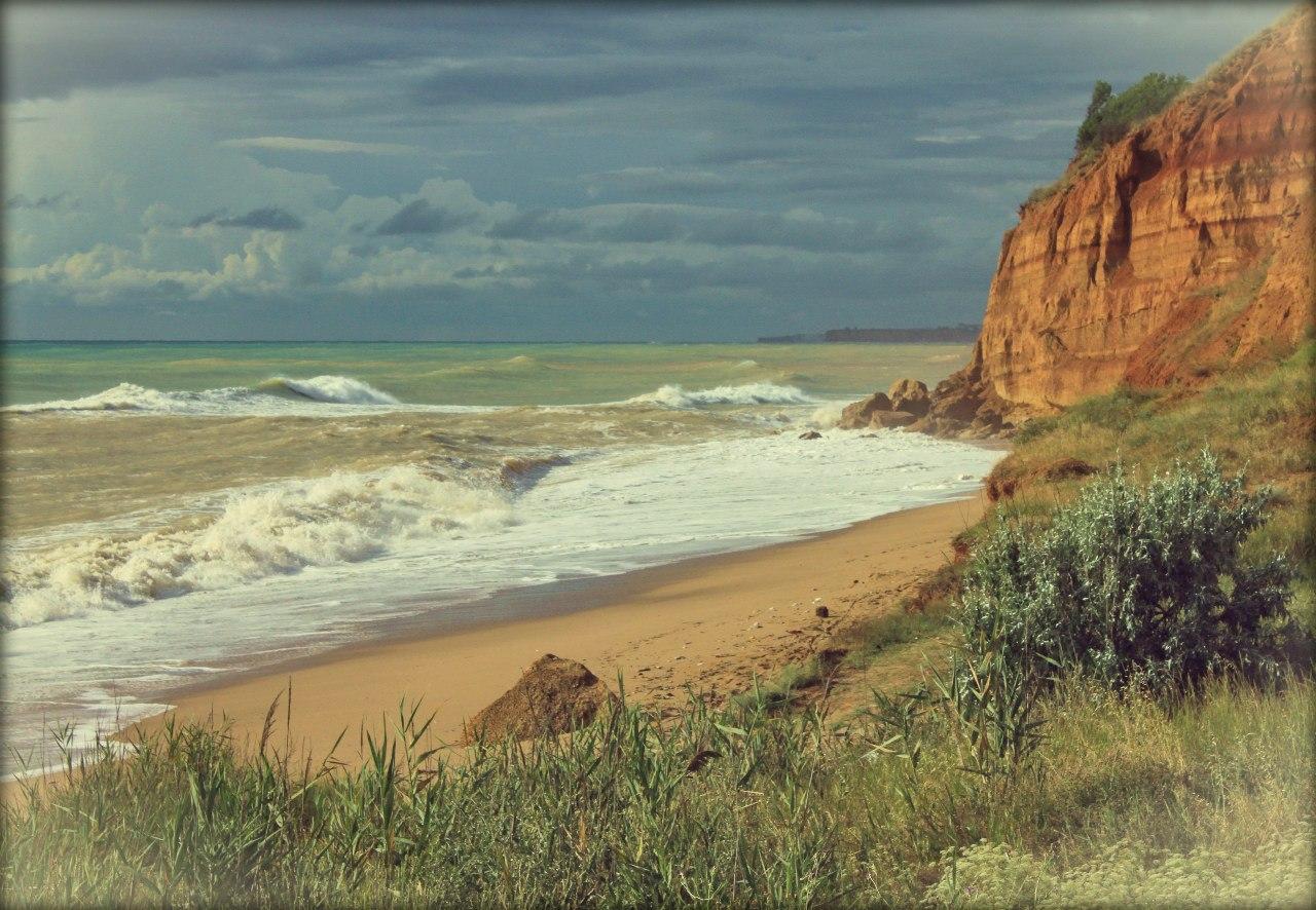 Пляжи западного крыма фото