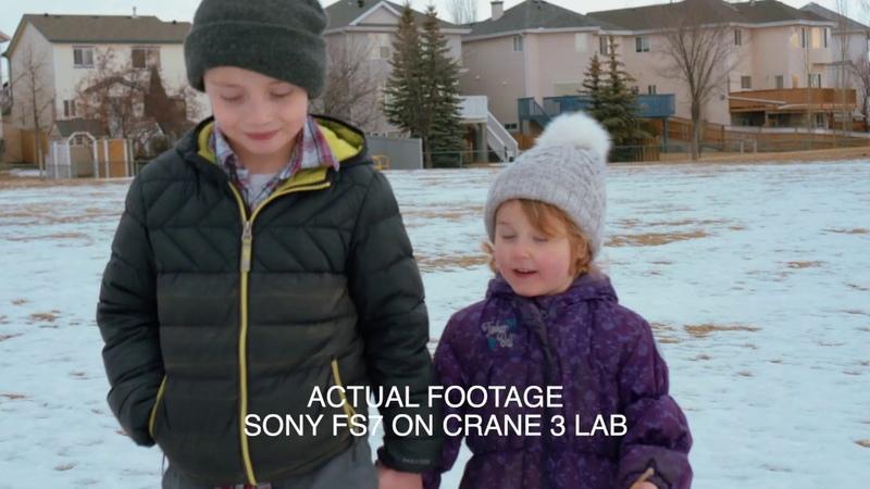 Sony FS7 on the Zhiyun Crane 3 LAB