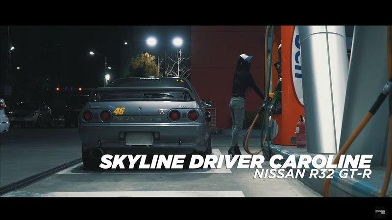 SKYLINE DRIVER CAROLINE   NISSAN R32 GT-R x SUBARU WRX STI  4K