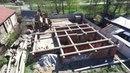 Сборка дома в г. Тейково Ивановской областисъемка с воздуха