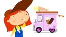 Doctora McWheelie El camión de helados Dibujos animados de coches