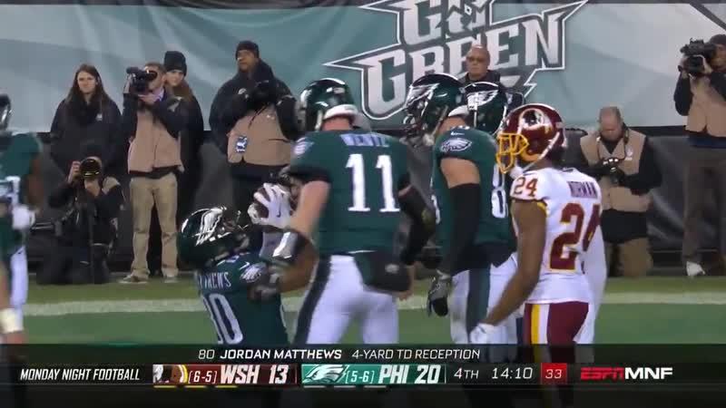 Wentz highlights from WASvsPHI