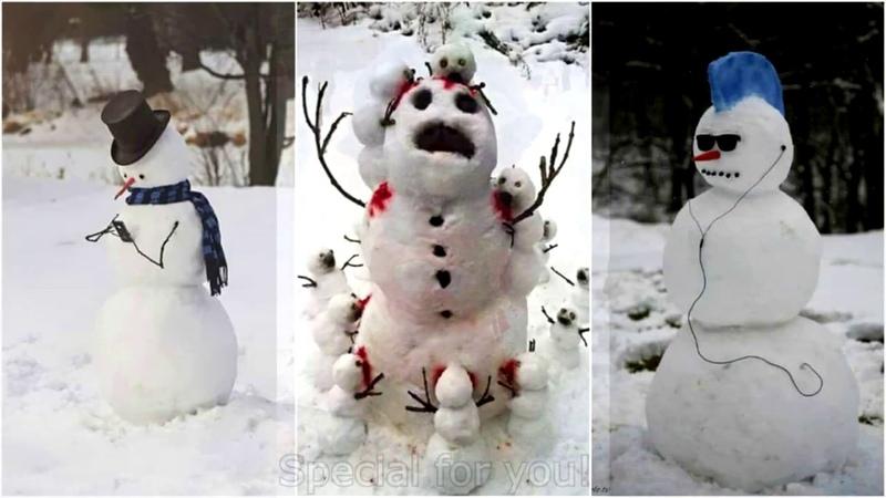 ◄100 Классных Снежных Фигур, Которые Сможет Сделать Каждый!►