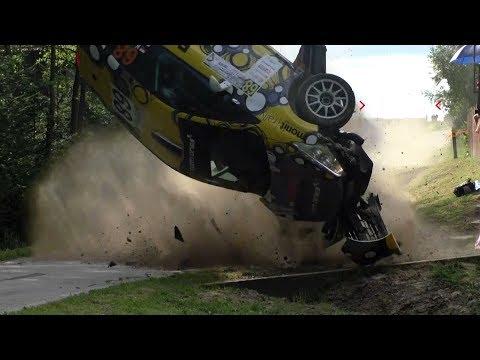 ERC Rally Rzeszow 2017 | BIG CRASHES ACTION