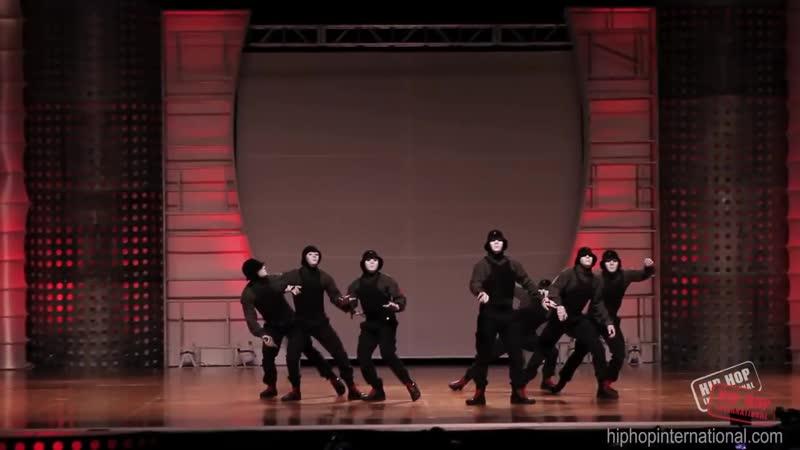 JABBAWOCKEEZ - Performance @ HHIs 2012 World Hip Hop Dance Championship Finals