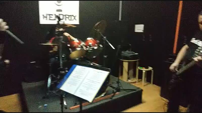 Brand New Iron Maiden Tribute Garage jam