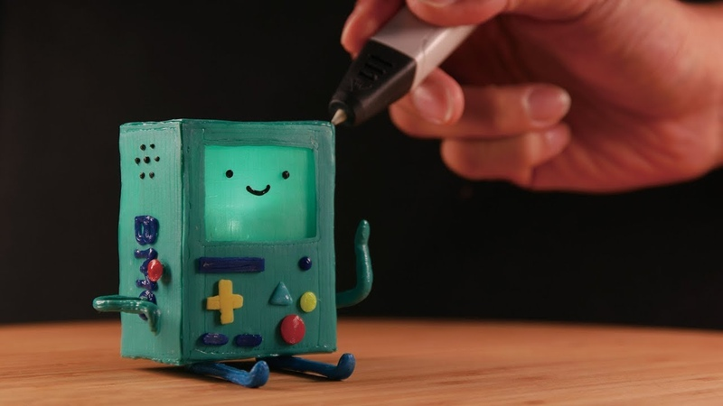3D펜으로 만든 비모   3D pen Making BMO (Adventure time)